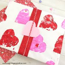 make your own wrapping paper make your own valentines day wrapping paper easy peasy and