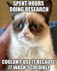 Research Meme - online searching badgerlink