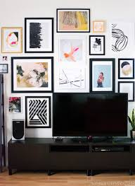best gallery walls how to plan and hang a gallery wall