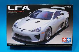 lexus sports car model tamiya 1 24 lexus lfa model kit review youtube