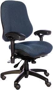 Cheap Office Chair Amazon Com Bodybilt J2507x Blue Fabric High Back Task Ergonomic
