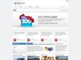 free download eenterprise yootheme joomla template clone site