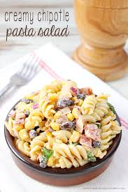 jamie oliver s best pasta salad recipe sides salads creamy chipotle pasta salad love bakes good cakes