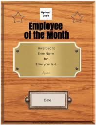 free custom employee the month certificate since all text can changed you use these certificates for any purpose such employee the week year staff month