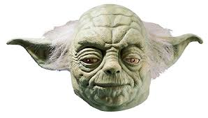 amazon star wars yoda latex mask green size