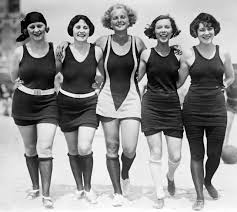 halloween bathing suits swimsuit photos now and then the evolution of bathing suits
