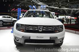renault duster 2015 dacia renault duster awd 125 tce front view at 2015 geneva motow
