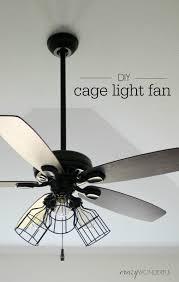 cheap industrial ceiling fan lighting diy transform an ordinary