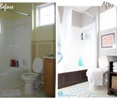 Bathroom Remodels Before And After Pictures by Before And After Small Bathroom Remodeling Home Inspiring