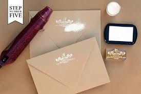 wedding invitations embossed diy tutorial inspired floral wedding invitations