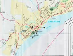 Ohio City Map City Of Gallipolis Ohio