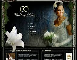 free wedding website 18 free lovely wedding website templates designfreebies