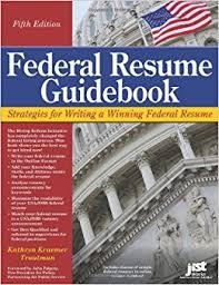 federal resume guidebook strategies for writing a winning federal