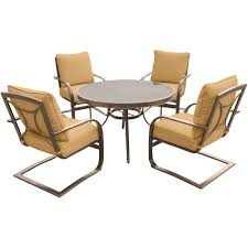 Overstock Patio Furniture Sets - spring action patio chairs