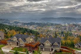 happy valley oregon rapid growing city residential homes in fall