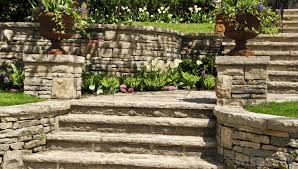 what are the different types of garden retaining walls