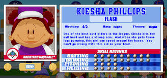 Kenny Backyard Baseball Kiesha Phillips Cespedes Family Barbecue
