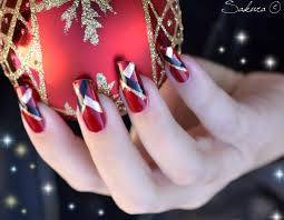 40 easy christmas nail art designs all about christmas