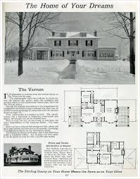 colonial home plans with photos 103 best house plans images on vintage houses kit