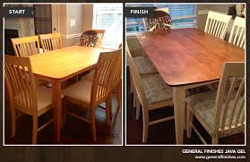 Refinishing Dining Room Table Blog Posts Tagged With Java Gel Stain General Finishes