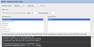 how to change the font on android change editor font of android studio per mac stack overflow