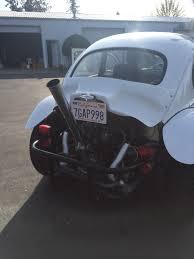 baja bug 1964 classic baja bug white on black complete frameoff restore