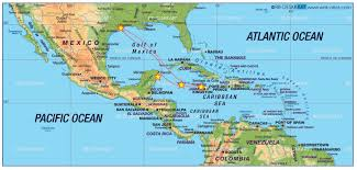 Map Caribbean by 23 Wallpapers Map Of Western Caribbean Cruise Punchaos Com