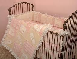 Nursery Bedding For Girls by Crib Bedding For Girls Pink Nursery Set Bedding Cotton