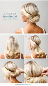 headband roll 7 perfectly date hairstyles thegoodstuff