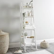bathroom ladder shelf the white company home sweet home decor