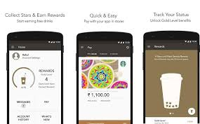 starbucks app android starbucks forays into digital payment with starbucks india mobile app