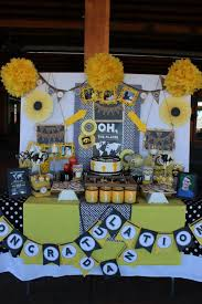 senior graduation party ideas ez fluff 12 yellow tissue paper pom poms flowers balls