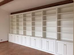 librerie bianche librerie su misura falegnamerie