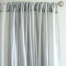 Burgundy Curtain Panels 10ft X 10ft Sheer Organza Curtain Panel Silver Efavormart