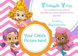 28 bubble guppies invitation template bubble guppies free