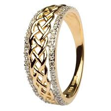 celtic knot ring celtic knot diamond ring