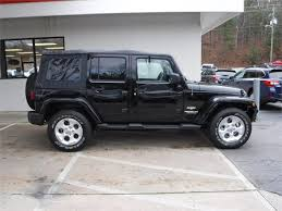 jeep wrangler saharah 2015 jeep wrangler unlimited for sale in asheville