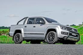 volkswagen amarok 2015 volkswagen amarok dark label rival utes put in the shade road