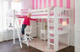 Loftbedswithdeskforgirlskids  Special Loft Beds With Desk - Girls bunk bed with desk