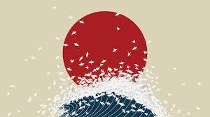 Japan Flag Image Japan Flag Art Wallpaper Wall Art Japanese Jameslloyd Illustration