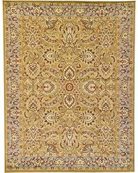 11 X 12 Area Rug Pre Black Friday Special Unique Loom Agra Collection Yellow