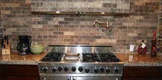 kitchen interior faux stone panels white peel and stick