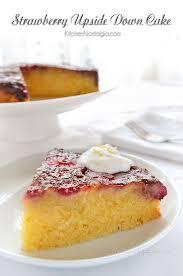 strawberry upside down cake kitchen nostalgia