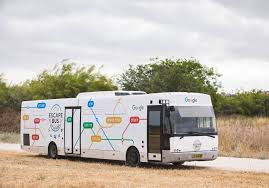 israel google google escape bus hits the roads in israel israel news jerusalem
