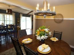 Two Tone Walls With Chair Rail Dining Room Paint Ideas With Chair Rail Paint Colors For Dining