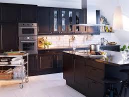 cuisine en noir cuisine 28 idées de design contemporain formidable