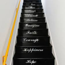 Stairs Quotes by Aliexpress Com Buy Stairs Wordart Love Live Laugh Dream Mirror