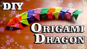 diy how to make paper dragon easy origami tutorial for