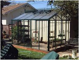 Small Backyard Greenhouse by Backyards Chic Enchanting Small Greenhouse For Backyard Photo
