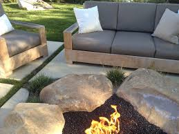 Fire Pit Rocks by Best Rock For Fire Pit Solidaria Garden